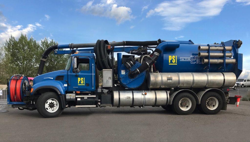 Hydro Excavation PSI - Vactor 2100