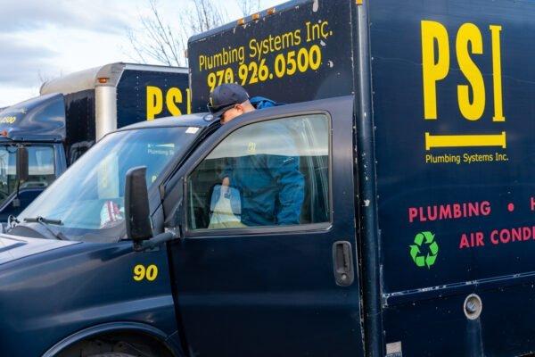 PSI Technician getting into truck 2
